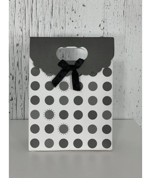 Polka dots mini gift bags