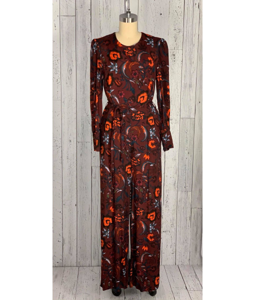 Darling floral jumpsuit