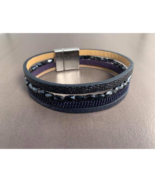Navy blue bracelet