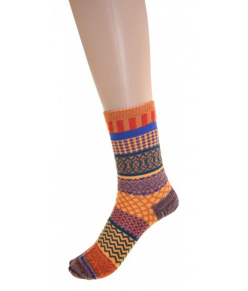 Cedar Paddle Multicolor Socks Coton