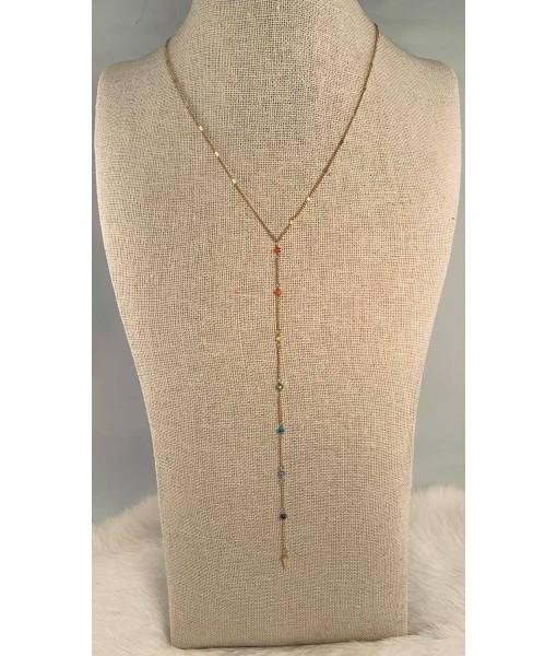 Rainbow beads chain