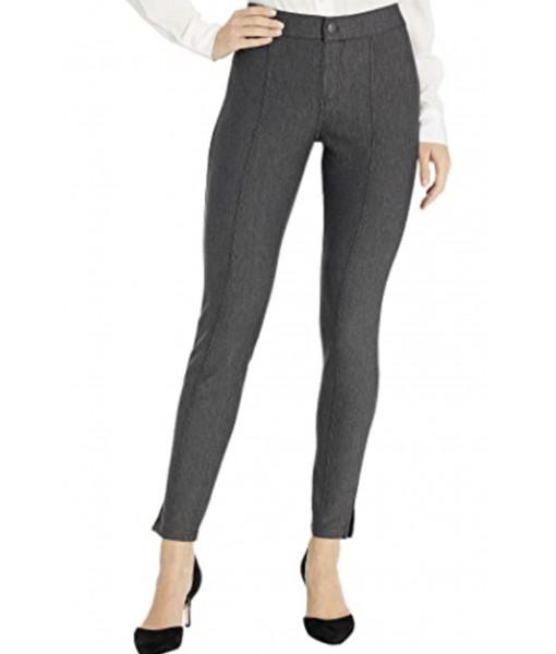 Hue pintucked tweed legging