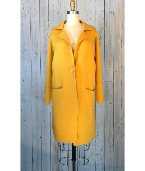 Eddie cardigan coat