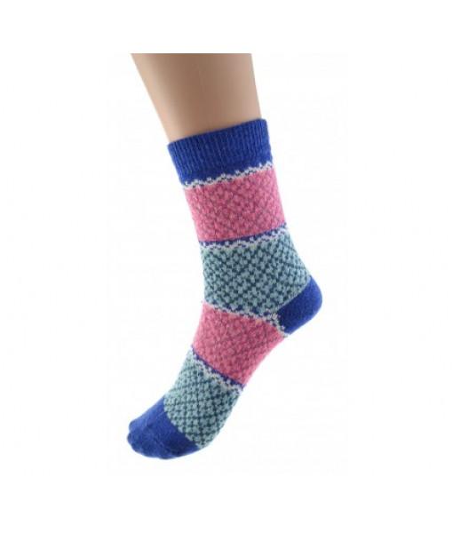 Cedar Paddle Multicolore Wool Socks