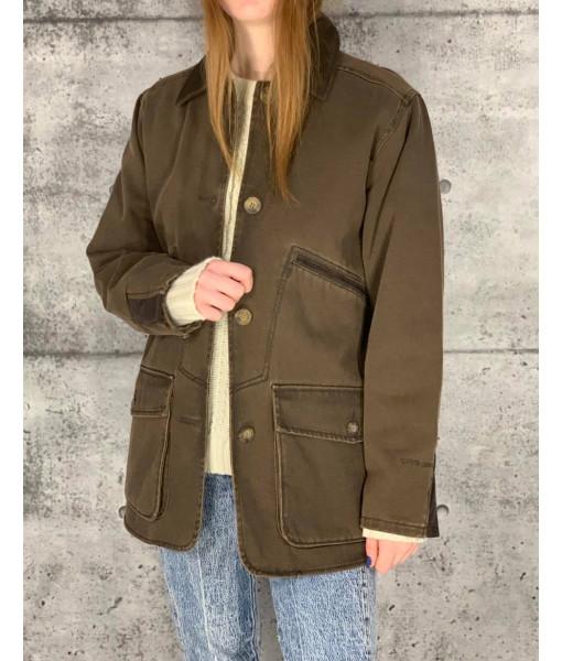 Woolrich coton canvas coat