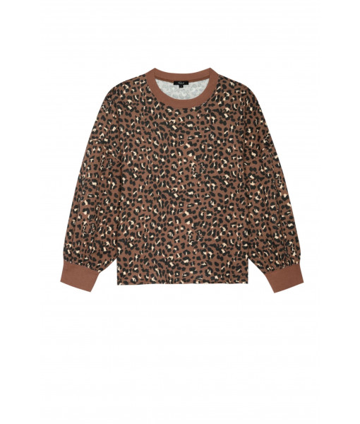 Reeves  leopard sweater