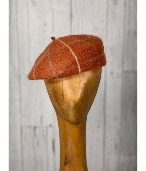 The plaid beret