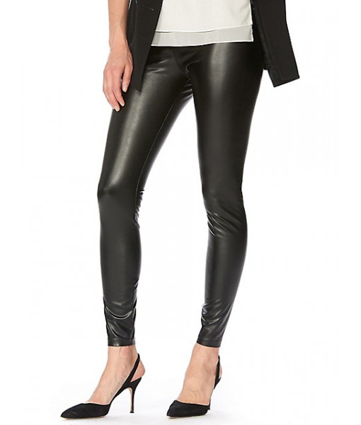 Hue leatherette legging
