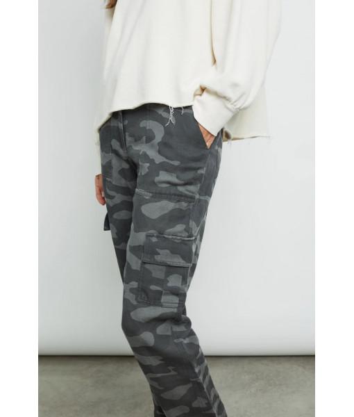 Cargo charcoal camo pants