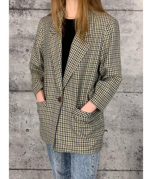 Functionals plaid jacket