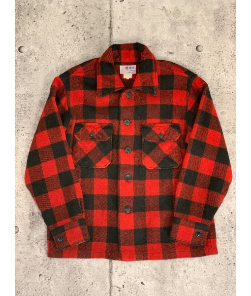Cockatoo plaid wool shirt