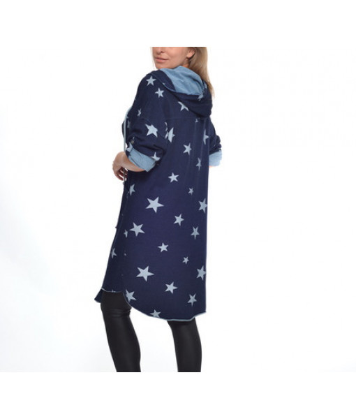 Amorosa hooded jacket