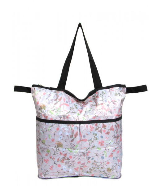 Eco bag flower garden