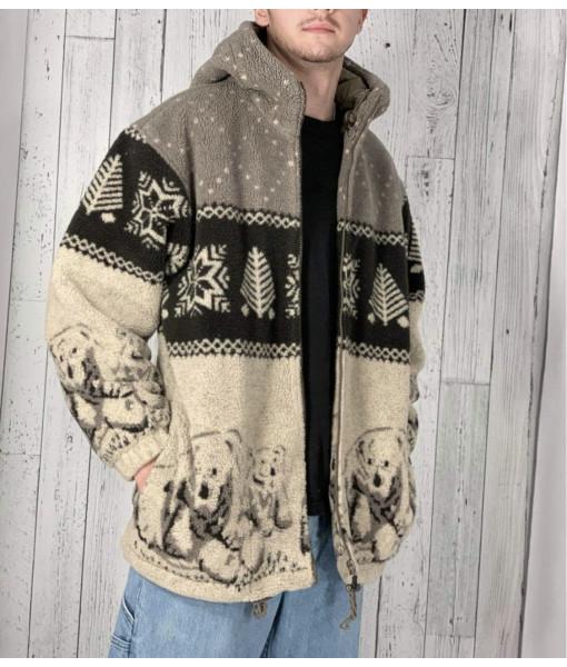 Polar bear fleec jacket