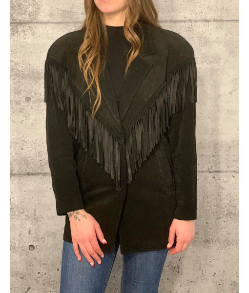 Pam-Pam fringed coat