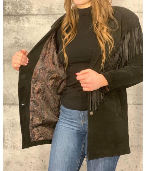 Pam-Pam fringed coat
