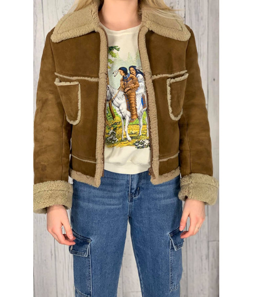Jukie sheepskin coat
