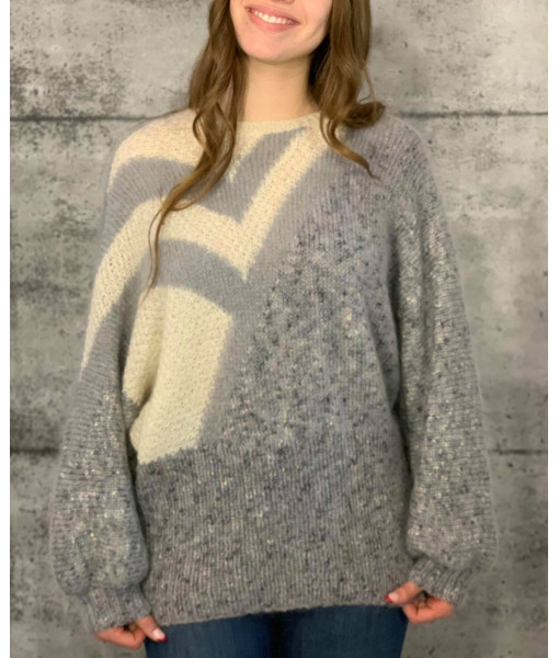Bat sleeves knit
