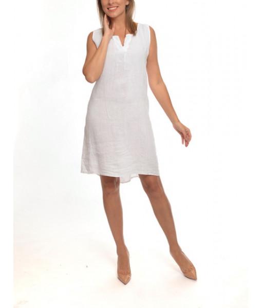 Amorosa linen dress
