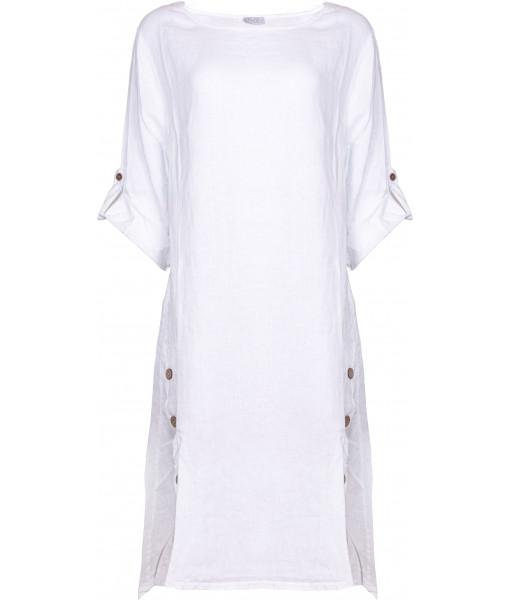 Eternelle linen dress